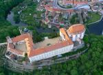 Zámek Vranov nad Dyjí, letecký pohled