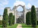 Ruiny kláštera v OURSCAMP -