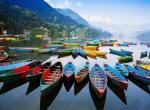 Pokhara, jezero Phewa -