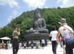 Buddha u chrámu Sinheungsa