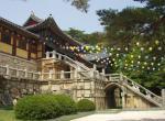 Vstupní brána chrámu Pulguksa