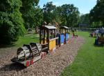 zámecký park Laxenburg, dětské hřiště