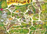 Park Mirakulum, mapa