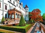 Zámek Konopiště a zámek a park v Průhonicích