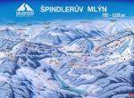 Hotel Lenka, Špindlerův Mlýn, ski mapa