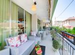 Hotel Kariba, Rimini, terasa