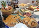 Hotel Luxor, Rimini, snídaně