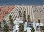 Hotel du Soleil, Rimini, pláž