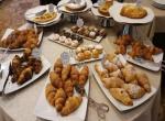 Hotel du Soleil, Rimini, snídaně