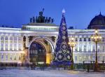 Petrohrad v době adventu