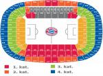 bayern seating plan, schema stadionu