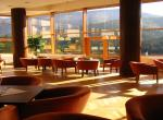 Hotel Boboty, výhled z restaurace