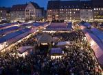 Norimberk - adventní trhy, výstava Karla IV.