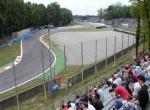 Monza pohled z tribuny Ascari -