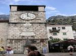 Kotor - Hodinová věž