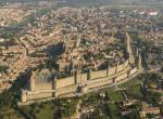 Carcassone - slavná pevnost Francie