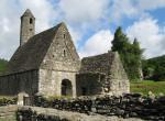 Glendalough - překrásný staroirský klášter