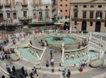 Palermo - jedno z náměstí