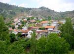 Troodos - jedna z horských vesniček