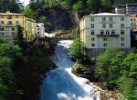 Bad Gastein - alpský vodopád ve městě