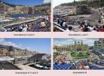 Monte Carlo, tribuny okruhu F1