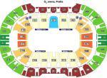 O2 arena Praha, plánek sektorů