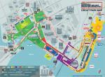 Singapur - plánek tratě
