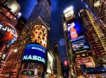 New_York, night