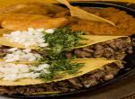 Mexico, typické tacos
