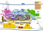 Plánek tratě formule 1 Španělska -