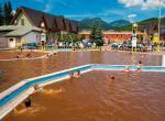 Bešeňová, venkovní bazény s gotermální vodou