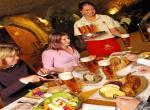 Pivní Lázně, hotel U sládka, restaurace ve skále