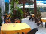 Hotel Flóra, letní terasa