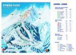 Fis, Ski areál Štrbské pleso - mapa