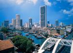 GP Singapuru - řeka
