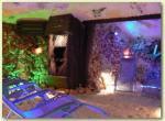 Sklene Teplice - solná jeskyne -