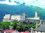 Bellinzona: tři mohutné hrady na úpatí Alp