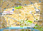 Hotel Royal Garden Paris - mapka