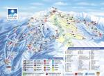 Ski wellness hotel Družba - ski mapa