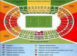AS ROMA - mapa stadionu