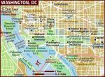 Washington, mapa
