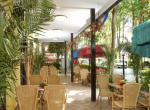 Hotel Busignani, zahrádka