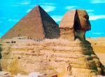 Pyramidy a sfinga v Gíze -
