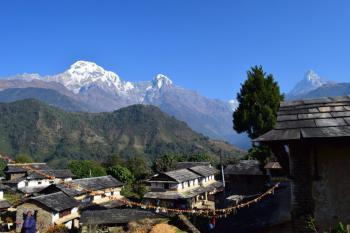 Nepál a lehký trek v Himalájích