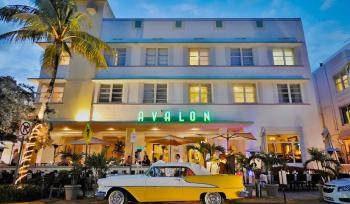 Hotel Avalon****, Miami Beach