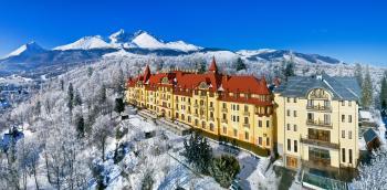 Grand hotel Praha, Tatranská Lomnice, Silvestrovský pobyt