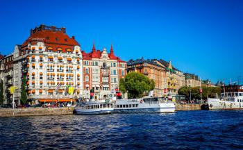 Hotel Best Western Capital 3*, Stockholm - letecky