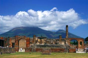 Pompeje - ruiny