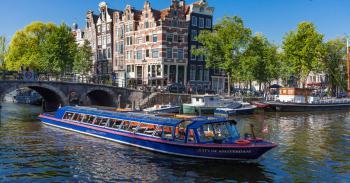 Amsterdam, plavba po amsterdamských kanálech