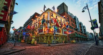 Dublin, čtvrť Temple Bar